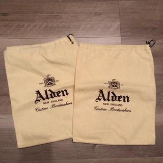 オールデン(Alden)のAlden シューズ袋 2枚組(その他)