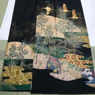 ✨最終価格✨ 作家 黒留袖(しつけ糸付きの新品)(着物)