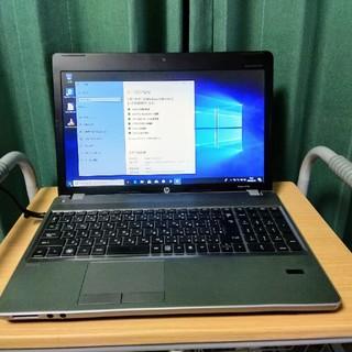 HP - 美品 ノートパソコン HP probook4530s ステンシルバーカラー