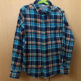 ユニクロ(UNIQLO)のユニクロ  ☆  ネルシャツ  140cm(Tシャツ/カットソー)