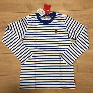 ミキハウス(mikihouse)のミキハウス  ブルーボーダーロンT(140cm)(Tシャツ/カットソー)