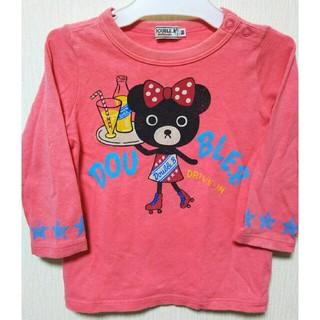 ミキハウス(mikihouse)のミキハウス DOUBLEB ロンT90(Tシャツ/カットソー)