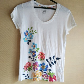 ジーユー(GU)のレディース*Tシャツ(Tシャツ(半袖/袖なし))