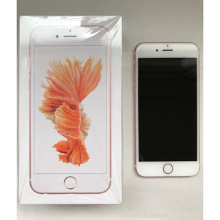 アイフォーン(iPhone)のiPhone 6s Rose Gold 16GB 美品(スマートフォン本体)