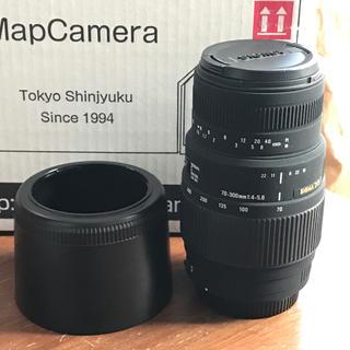 シグマ(SIGMA)のSigma 70-300mm F4-5.6 DG MACRO シグマSA(レンズ(ズーム))