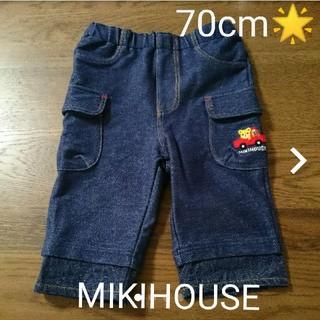 ミキハウス(mikihouse)のミキハウス70cmプッチーくんパンツ(パンツ)