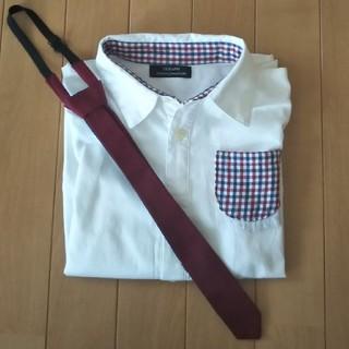セラフ(Seraph)のセラフ ワイシャツ ネクタイ付き 130(ブラウス)