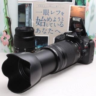 キヤノン(Canon)の❤️想い出を一生モノに❤️キャノン Kiss X7 ダブルレンズ❤️(デジタル一眼)
