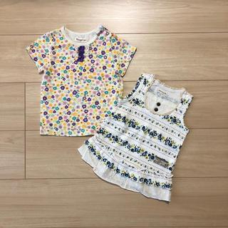 キムラタン(キムラタン)のキムラタン Tシャツ 2点 女の子 夏服(Tシャツ)