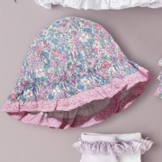 NEXT - 新品!ネクスト フローラル 小花柄帽子👒ライラック