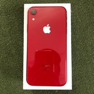 iPhone - iphoneXR 64GB RED 本体