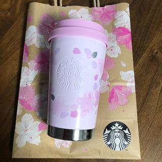 スターバックスコーヒー(Starbucks Coffee)のSAKURA2019ステンレスToGoロゴタンブラーブロッサム355ml(タンブラー)