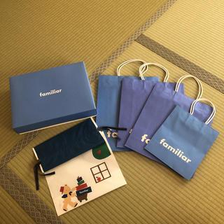 ファミリア(familiar)のファミリア  ショップ袋とギフトボックス(その他)