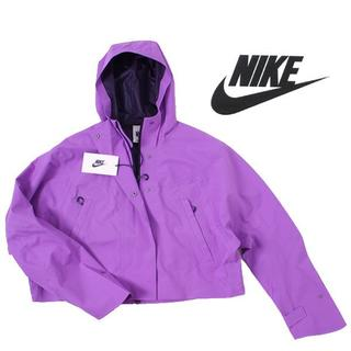 ナイキ(NIKE)の18AW Nike City Ready クロップドジャケット定価27,000円(ナイロンジャケット)