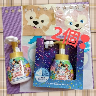 ディズニー(Disney)の東京ディズニーリゾート 35周年 ミッキー形 ハンドソープ☆2個セット(ボディソープ / 石鹸)