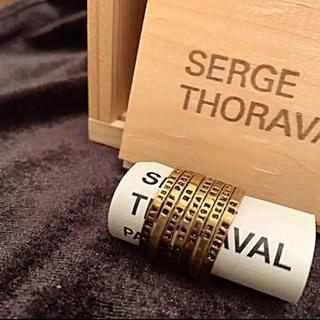 アッシュペーフランス(H.P.FRANCE)のSerge Thoraval セルジュトラヴァル  接吻  7連ゴールドリング (リング(指輪))