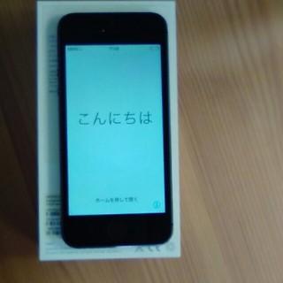 アイフォーン(iPhone)のi phone 5s  ☆Space Gray  32GB(スマートフォン本体)