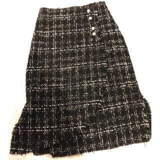 ザラ(ZARA)のZARA♡ツイードスカート(ひざ丈スカート)