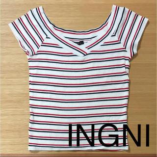 イング(INGNI)のINGNI ボーダーTシャツ イング(Tシャツ(半袖/袖なし))