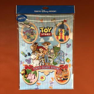 ディズニー(Disney)のトイストーリー クリアファイル3枚セット(クリアファイル)