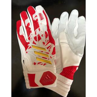 アディダス(adidas)のアディダス バッティング手袋(グローブ)