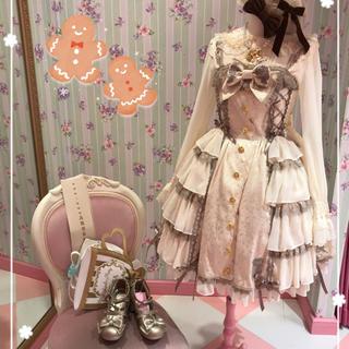 アンジェリックプリティー(Angelic Pretty)の新品タグ付き Dream Rose JSK アイボリー(ひざ丈ワンピース)