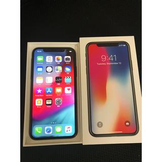 iPhone - 美品 SIMフリー iPhoneX 256GB