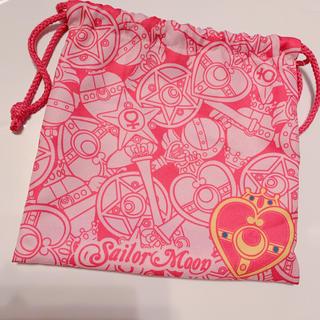 セーラームーン - セーラームーン 巾着  袋 ピンク