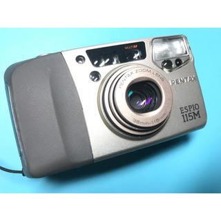 ペンタックス(PENTAX)のかわいい! ポケットサイズ 小型・軽量 多機能コンパクト PENTAX 115M(フィルムカメラ)