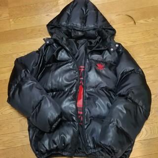 アディダス(adidas)のアディダスダウンジャケットXXLアトモスオフホワイトノースフェイスジョーダン1(ダウンジャケット)