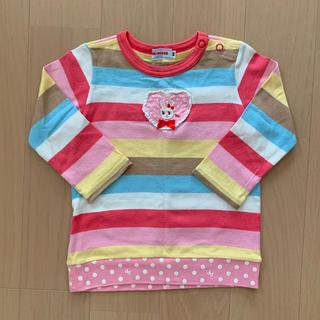 ミキハウス(mikihouse)のミキハウス ロンT 80㎝(Tシャツ)