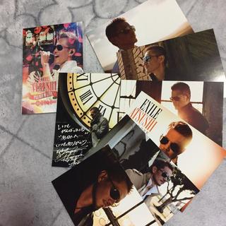 エグザイル(EXILE)のATSUSHIポストカード(ミュージシャン)