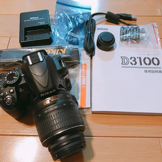 Nikon - NIKON レンズキット D3100 一眼レフ デジカメ 美品