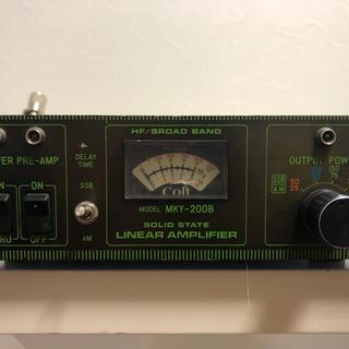 無線用リニアアンプ MKY-200B (アマチュア無線)