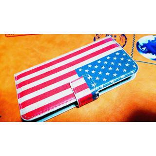 アメリカ 国旗 USA アンティーク レトロ 手帳型 iphone7