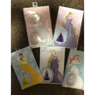 ディズニー(Disney)のプリンセス ハニカムカード(カード/レター/ラッピング)