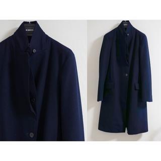 ジルサンダー(Jil Sander)の新品 JIL SANDER チェスターコート 34 定価40万 渋谷西武で購入(チェスターコート)