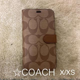 COACH iPhoneケース X
