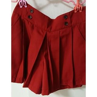 ハニーズ(HONEYS)のプリーツキュロットスカート(その他)