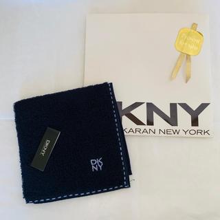 ダナキャランニューヨーク(DKNY)の新品未使用 DKNY ハンドタオル(ハンカチ/ポケットチーフ)