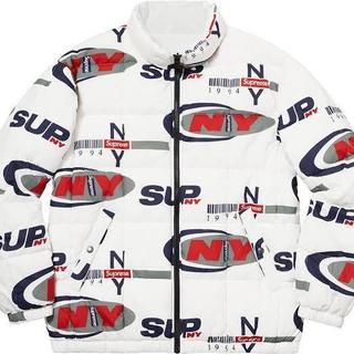 シュプリーム(Supreme)のSupreme NY Reversible Puffy Jacket M(ダウンジャケット)