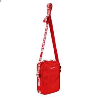 シュプリーム(Supreme)のSupreme 18ss Shoulder Bag 赤 ショルダーバッグ(ショルダーバッグ)