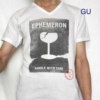 ジーユー(GU)のGU ジーユー プリントTシャツ(Tシャツ/カットソー(半袖/袖なし))