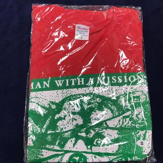 マンウィズアミッション(MAN WITH A MISSION)のMAN WITH A MISSION マンウィズ Tシャツ WOF 赤 グッズ(ミュージシャン)