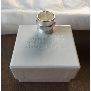 マルタンマルジェラ(Maison Martin Margiela)のL新品59%off マルジェラ ボルトナット リング シルバー(リング(指輪))