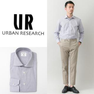アーバンリサーチ(URBAN RESEARCH)の新品 URBAN RESEARCH Tailor チェックシャツ サイズ41(シャツ)