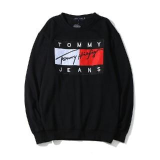 TOMMY HILFIGER - TOMMY JEANS(トミージーンズ) トレーナー 裏起毛 刺繍