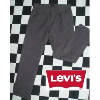 リーバイス(Levi's)の【リーバイス】W32グレンチェックチノパンデニムストレートジーンズ(チノパン)