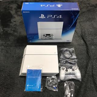 PlayStation4 - PS4グレイシャーホワイト500GB CUH-1200保証付き