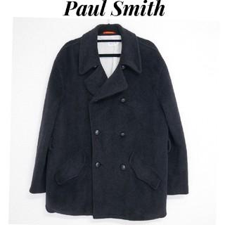ポールスミス(Paul Smith)のPaulSmith ポールスミス アンゴラ70% 日本製 厚手生地コート(ピーコート)
